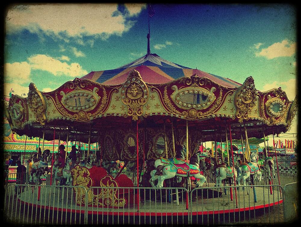the carnival carousel ttv by kadesrave67 redbubble