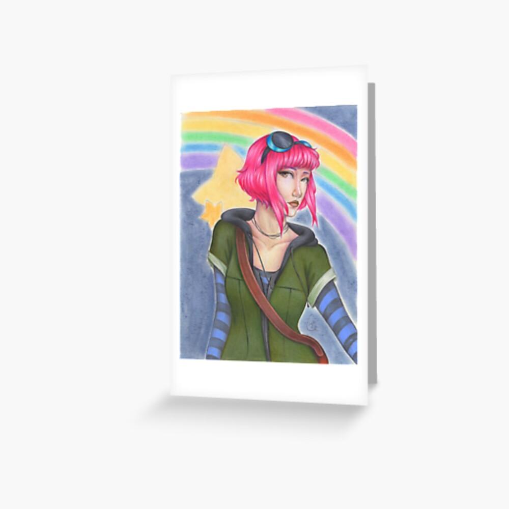 Ramona Flowers - Scott Pilgrim  Greeting Card