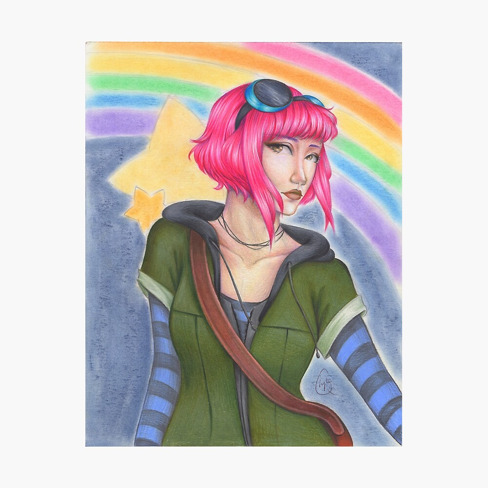 Ramona Flowers - Scott Pilgrim  Photographic Print
