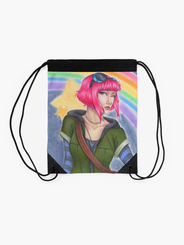 Alternate view of Ramona Flowers - Scott Pilgrim  Drawstring Bag