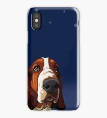 Star Gazing Hound iPhone Case/Skin
