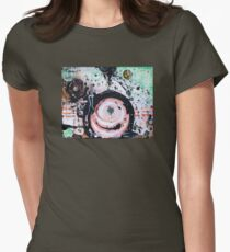 Life on the Edge Womens Fitted T-Shirt