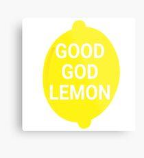 Good God Lemon - 30 Rock Quote Metal Print