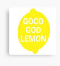 Good God Lemon - 30 Rock Quote Canvas Print