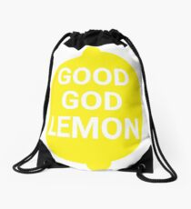 Good God Lemon - 30 Rock Quote Drawstring Bag
