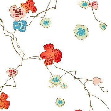 Japanese Bijutsukai Pattern  by Go-Postal