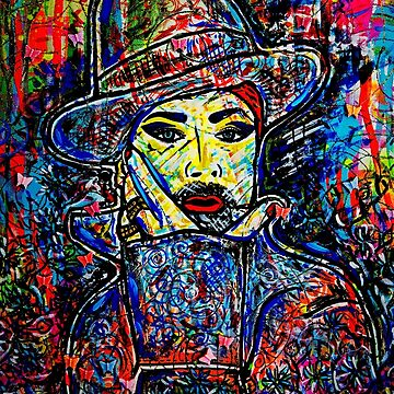 Boy George Merchandise Collection original painting by Dusty O by DustyO