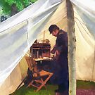 Civil War Officer's Tent by Susan Savad