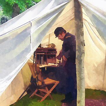 Civil War Officer's Tent by SudaP0408