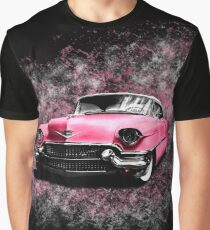 Elvis Presley's Pink Cadillac Graphic T-Shirt