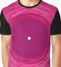 Pink Vinyl is love Graphic T-Shirt