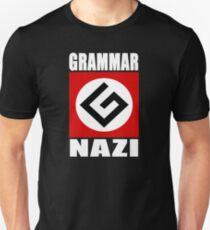 Camiseta ajustada Gramatica nazi