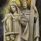 The Holy Family by fajjenzu