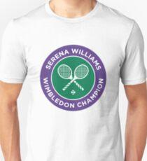 Serena Williams Wimbledon Champion Unisex T-Shirt