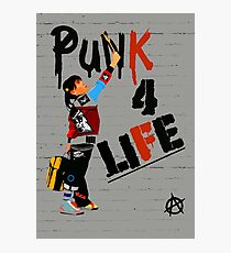 "Punky ""Punk 4 Life"" Brewster Photographic Print"