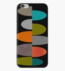 Mid-Century Modern Ovals iPhone Case