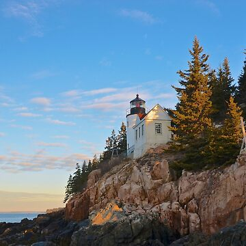 Morning At Bass Harbor Light, Maine by mdidrh