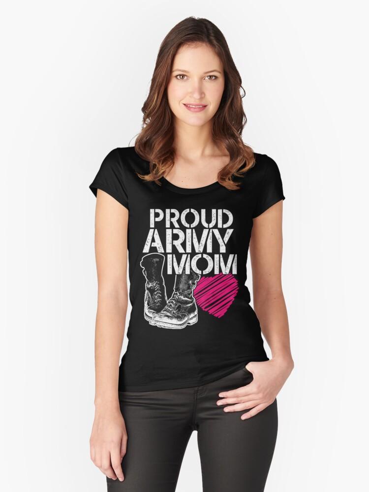 206844115ac2f Proud Army Mom Shirt