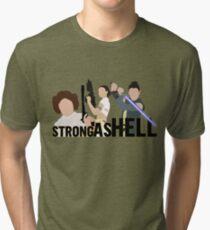 Stark wie die Hölle (Galactic Gals Version) Vintage T-Shirt