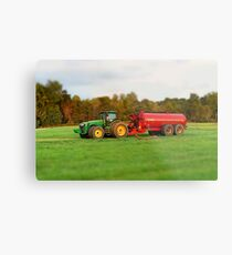 Colorful Agriculture Metal Print
