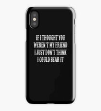 Tombstone Movie Quote iPhone Case/Skin