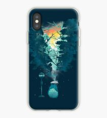 Magische Bushaltestelle iPhone-Hülle & Cover