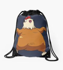 Delicious Chicken Drawstring Bag