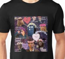 Sassy Tenth Doctor and Companions Unisex T-Shirt