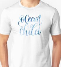 Ocean child tumblr graphic tee shirt gift for sister brother friend  Unisex T-Shirt