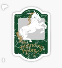 The Prancing Pony  Sticker