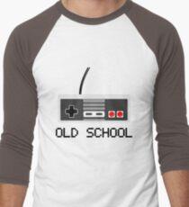 Old school - Nintendo (NES) Controller Men's Baseball ¾ T-Shirt