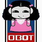 Pocket O'BOT Toy Robot 2.0 by Carbon-Fibre Media