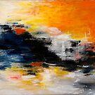 Das Leben ist eine große große Leinwand werfen Sie die ganze Farbe auf Sie können .... von Art-by-Renate