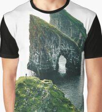 faroe islands landscape Graphic T-Shirt