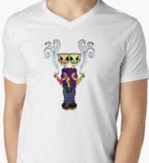 Tough Zombie Guys Men's V-Neck T-Shirt