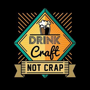 Drink Craft not Crap | drinking games shirt | beer lover gift | craft beer shirts | beer gifts men | beer gifts for dad | beer clothing | funny beer gift | beer pong by qtstore12