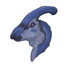 Parasaurolophus Walkeri by Sean Closson