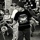 Street performer boy by JudyBJ