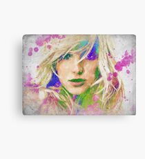 Britney Spears Watercolor Canvas Print