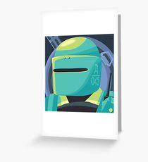 Tachanka (Blue) Greeting Card