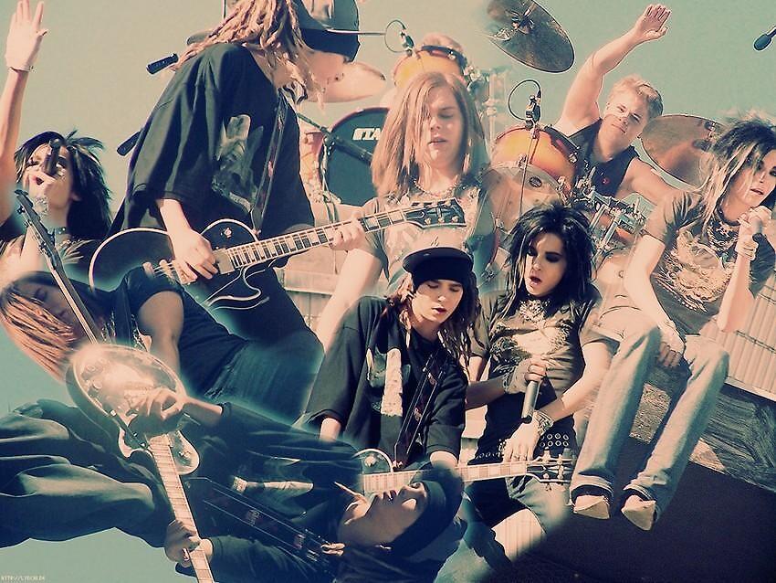 Tokio Hotel Collage(Because I Love Them) by Jascie Epinn