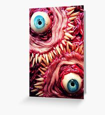 tooth beast Greeting Card
