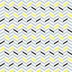 Geometric pattern - simple, black, grey, yellow by CitizenWong