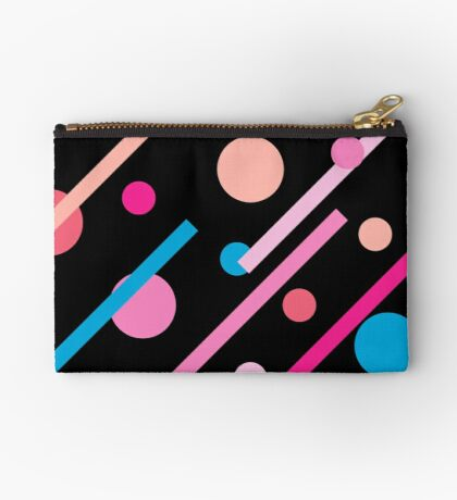 Linear Pink - Dots and Dashes Studio Pouch