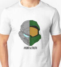 #HuntTheTruth - Locke/Master Chief Colour T-Shirt