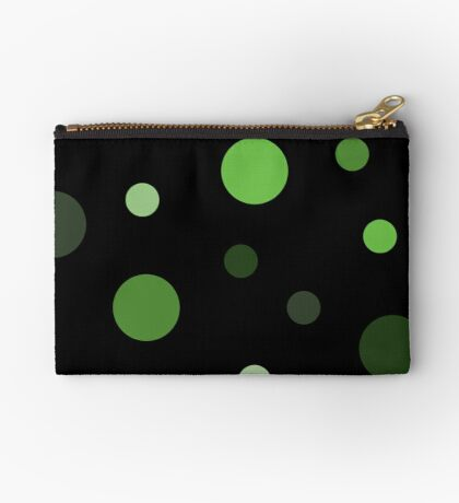 Linear Green - Dots Studio Pouch