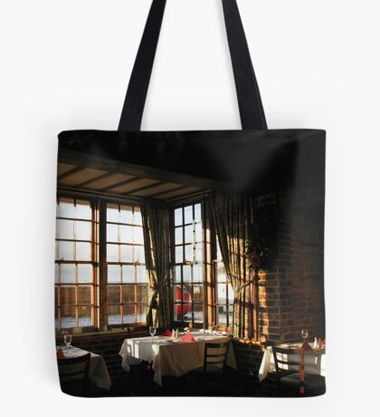 Winter Frühstück - Ye Olde White Hart Hotel Tote Bag