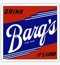 BARQ'S VINTAGE ADVERTISEMENT SIGN Sticker