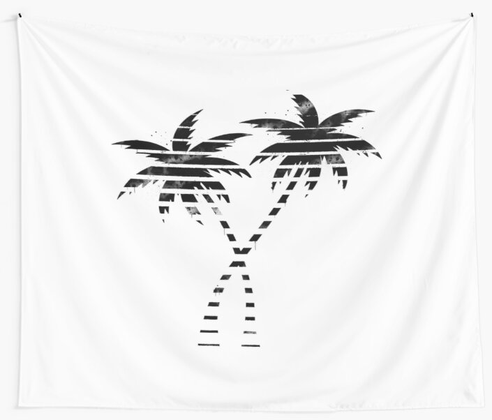 Palm Paint by Aesthetic909