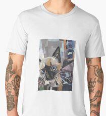 The Curious Kitten Men's Premium T-Shirt